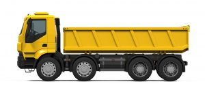 Yellow Tipper Truck